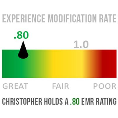 Featured image for christopher Achieves EMR Rating of .80