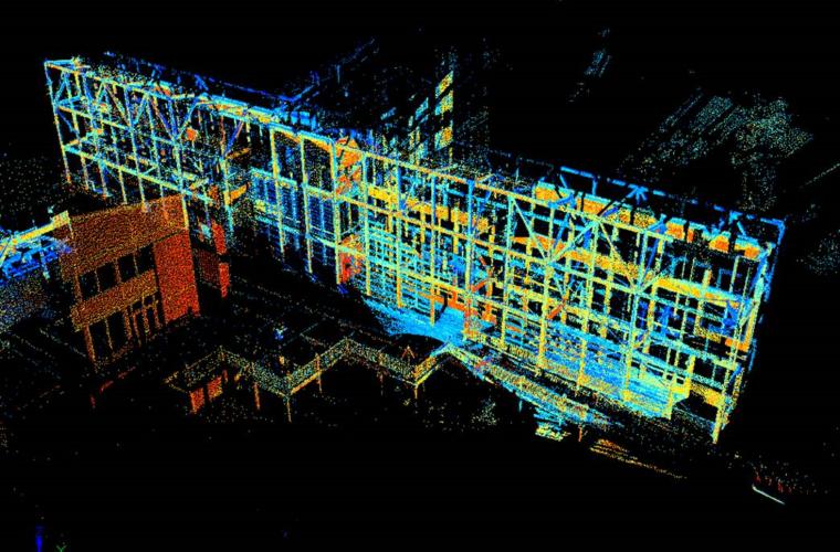 3D Scanning at Philip Merrill