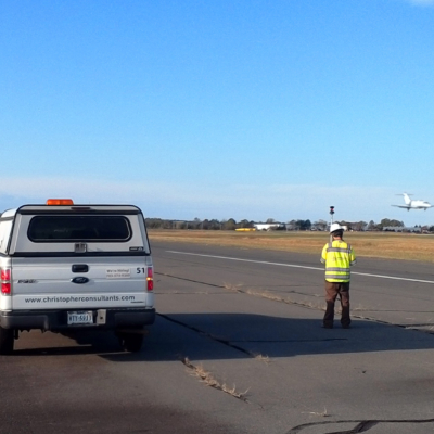 Featured image for Surveying Division's City of Manassas Runway Project Earns 1st Place VAS Award