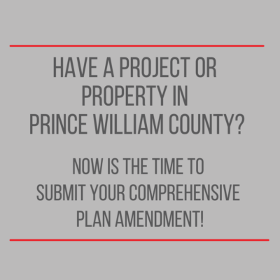 Featured image for Now is The Time to Submit Your Comprehensive Plan Amendment!
